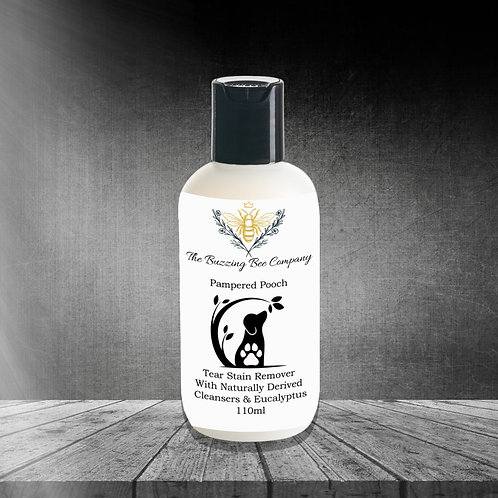 Tear Stain Remover For Dogs With Naturally Derived Cleansers & Eucalyptus.110ml.