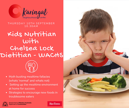 kids Nutrition with chelsea lock DIETITI