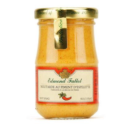 Moutarde au piment d'Espelette 10cl