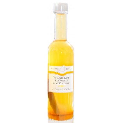 Vinaigre à la vanille & au curcuma