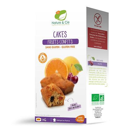 Cakes aux fruits confits