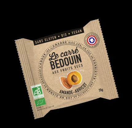 Le Carré BEDOUIN Amande-Abricot