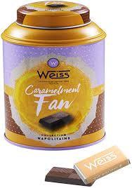 Napolitains au caramel sel de Guérande Edition Limi-thé Weiss 180g