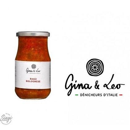 Sauce tomate bolognaise 340 Gina & Léo