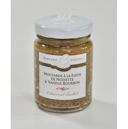 Moutarde à la fleur de noisette et à la vanille Bourbon 120g