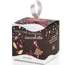 Panettone mini Milanais au chocolat boîte cadeau 80g
