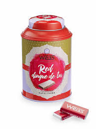 Napolitains rouge baiser Weiss - Edition Limi-thé 180g