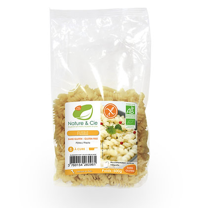Fusilli maïs et riz