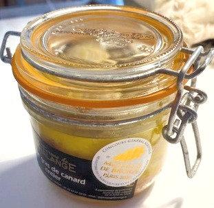 Foie gras de canard entier 185g La ferme de Phalange