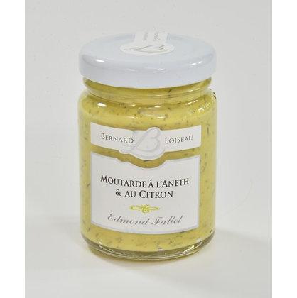 Moutarde à l'aneth et au citron 120g