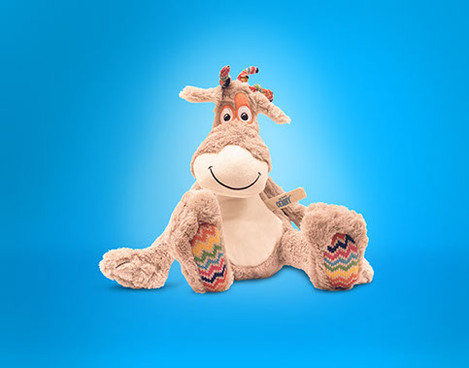 Furry toy for Unicef
