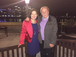 Brian Warfield and Mary Lou McDonald
