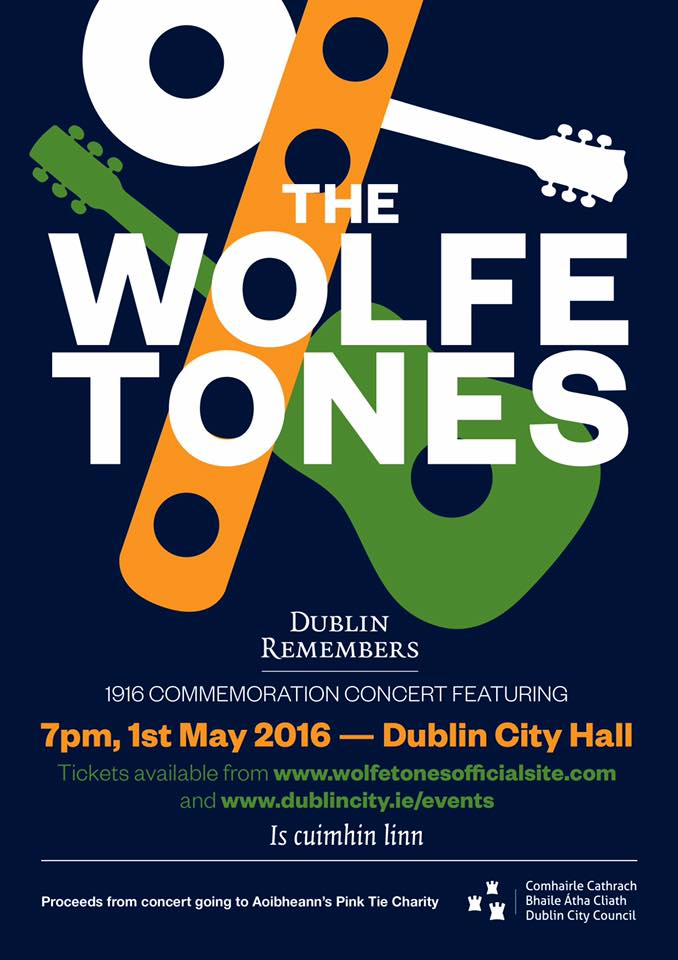 Wolfetones 1916 concert in City Hall