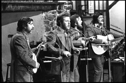 Young Wolfetones performing on RTE 1