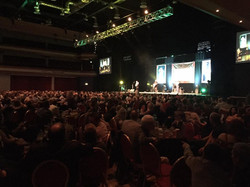 A packed house at the INEC Killarney
