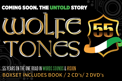 Book Boxset - The Ramblings of an Irish Ballad Singer: Wolfetones 55