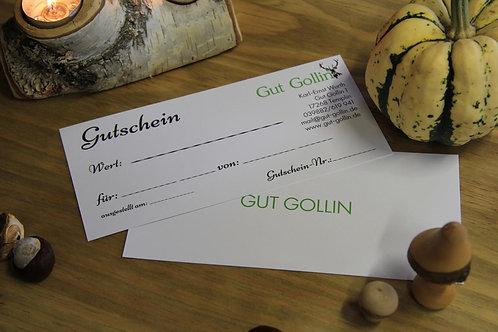 Gut Golliner Gutschein - 10 €