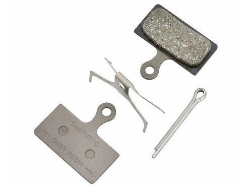 BRAKE PAD SHIMANO G03A metal PAD & SPRING