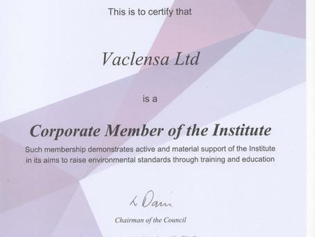 Vaclensa Renew BICSc Corporate Membership 2020/21