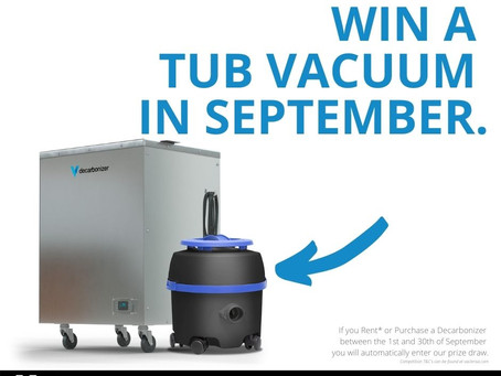 Win with Decarbonizer this September.