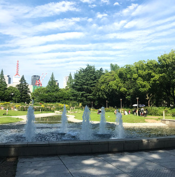 靭公園 / 噴水