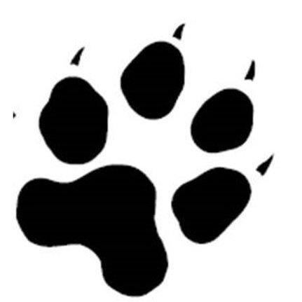 Stikers patte de chien