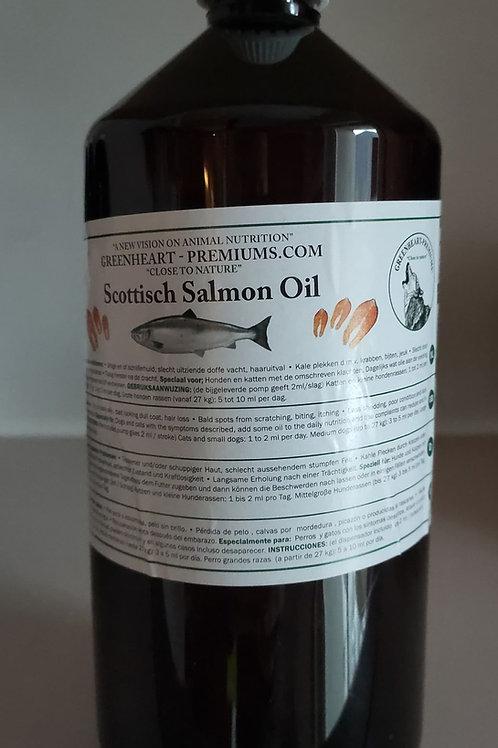 Greenheart chien chat huile de Saumon 1l