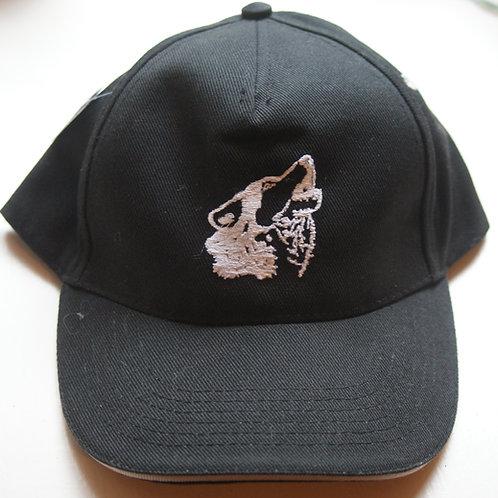Casquette tête de husky