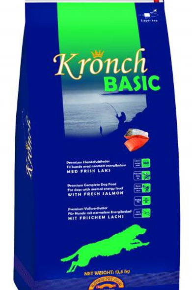 CROQUETTE SAUMON KRONCH BASIC 13.5 KGS