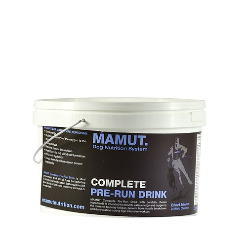 COMPLETE PRE RUN DRINK - MAMUT