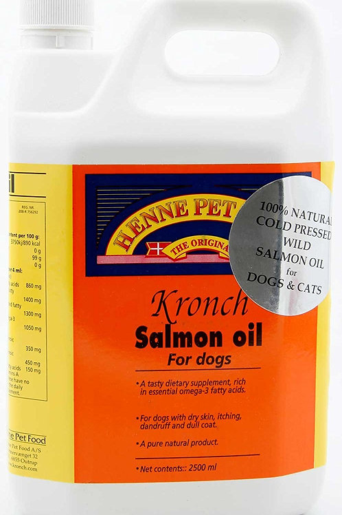 Huile de saumon kronch 2.5 l
