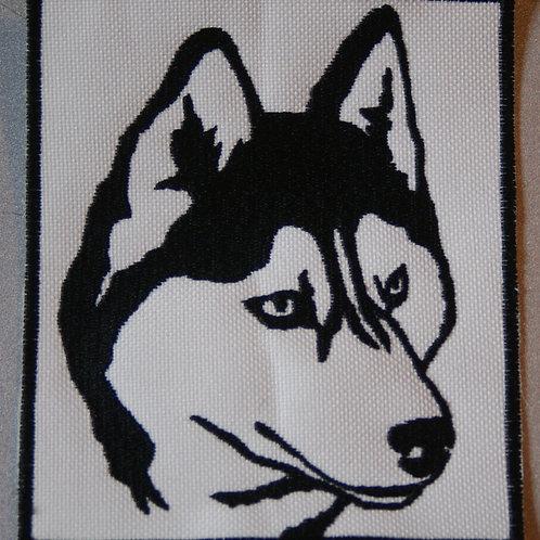 Ecusson husky