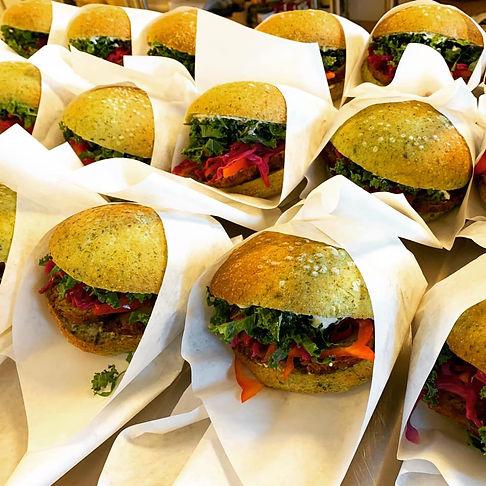 Sandwich fra Rørvig Catering