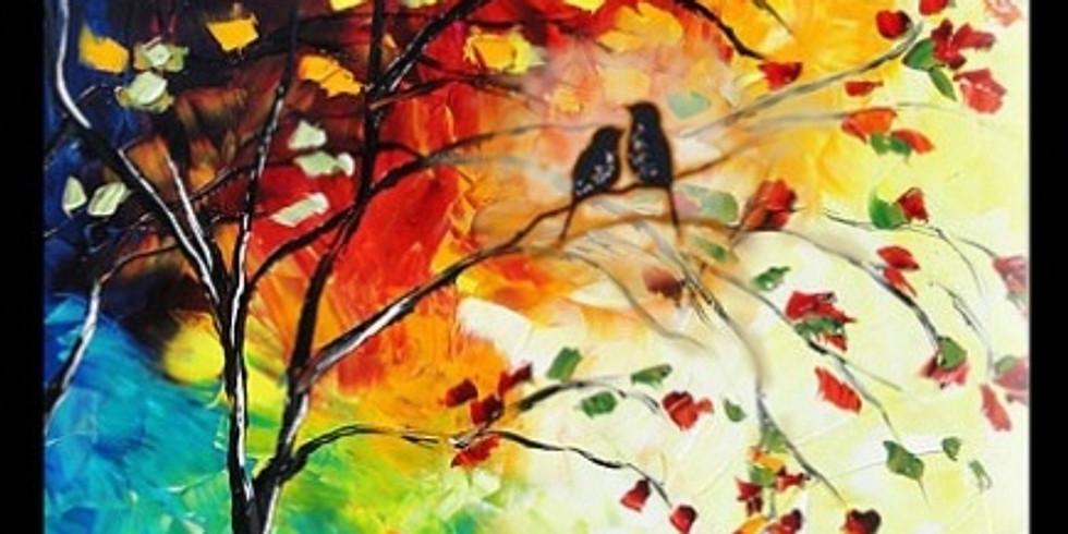 "Paint Party II: ""Love Birds"" - 彩繪: 有情鳥"