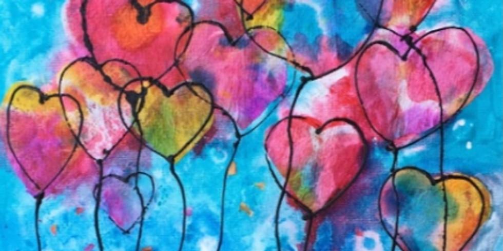 "Paint Party I: ""Love U a Bunch"" (彩繪: 心心相印)"