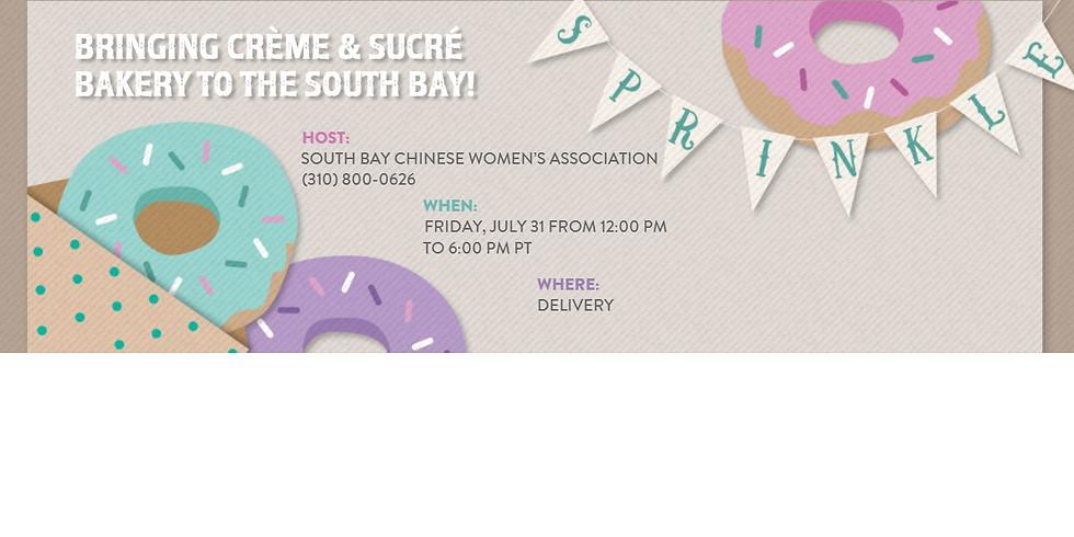Bringing Crème & Sucré Bakery to the South Bay!