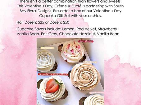Valentine's Day Cupcake Gift Set