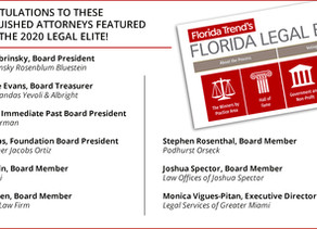 8 Legal Services Bd. of Directors & Legal Services Executive Director Listed Among 2020 Legal Elite