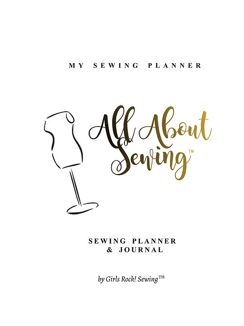 Sewing Planner & Journal