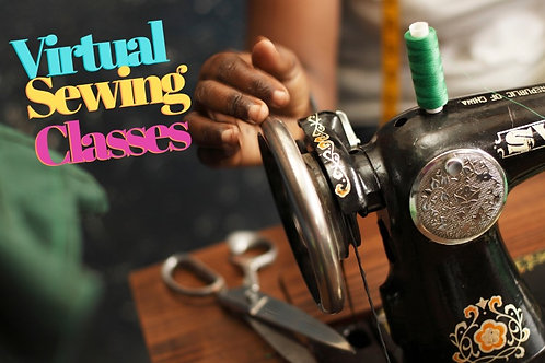 Virtual Sewing Session (4 one hour classes)