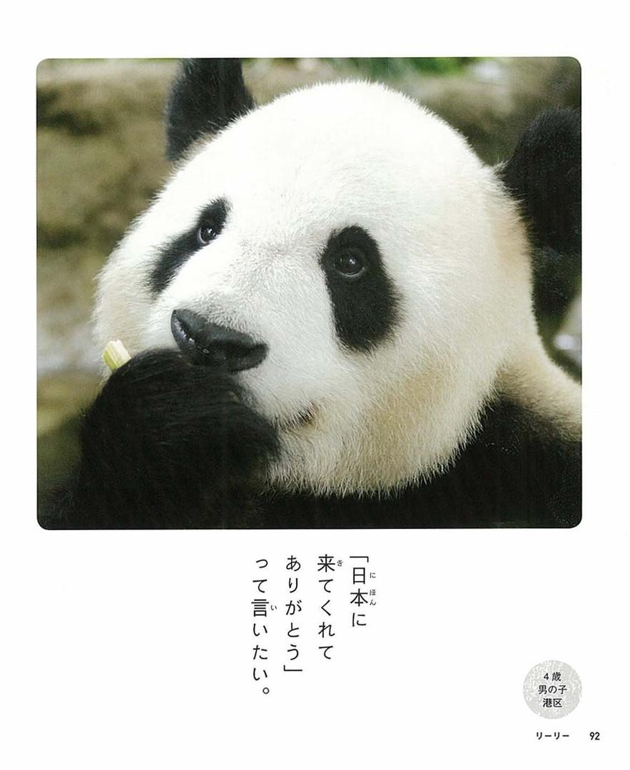 ひとことパンダ