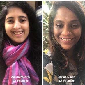 Ankita Mehra and Zarine Ninan, Co-Founders of ZAC Business Transformers