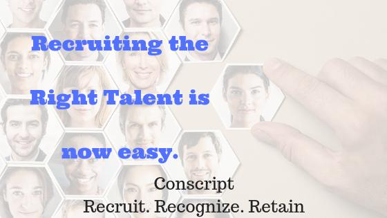 Conscript Recruit. Recognize. Retain