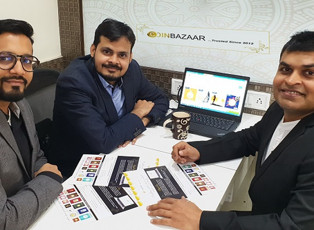 Coinbazaar is aiming to strike gold