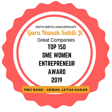 Guru Nanak Sahib Ji Top 500 SME Women Award | Great Companies