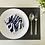Thumbnail: Blue White Zebra Mask Holder (MH-U010)