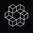 Logo - White Lines Black BG.png