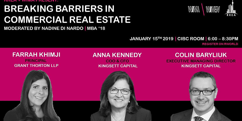 RREA Breaking Barriers in Commercial Real Estate