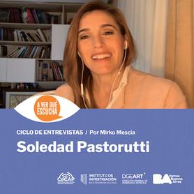 A ver qué escucha Soledad Pastorutti