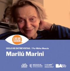 A ver qué escucha Marilú Marini